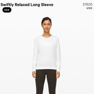 Lululemon Swiftly Relaxed Long Sleeve